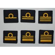 Grado singolo a strappo per ufficiali inferiori e superiori