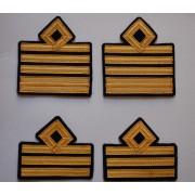 Gradi (paio)da manica per ufficiali inferiori e superiori dell'Aeronautica Militare