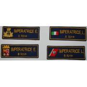 Targhette nominative personalizzabili (non più disponibile con stemma marina!)